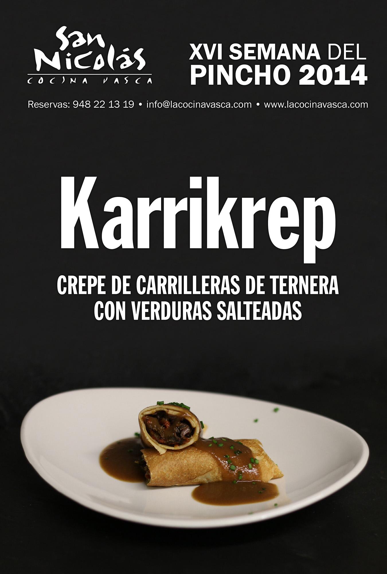 Carteles promocionales para la semana del pincho del for Cocina vasca pamplona