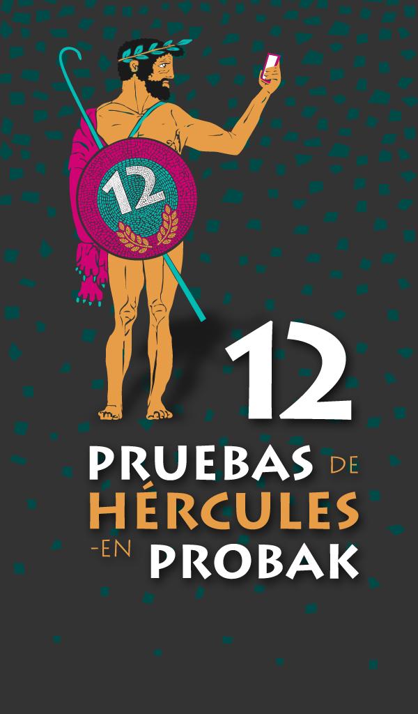 Imagen promocional para APP Las 12 Pruebas de Hércules