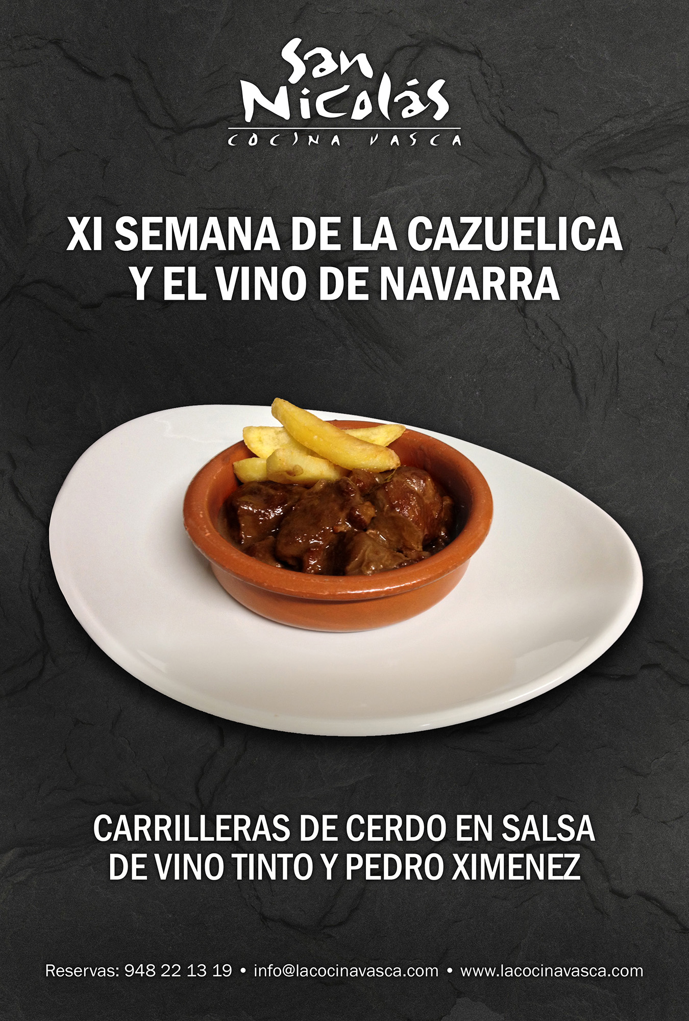 Carteles promocionales para la Semana del pincho del restaurante San Nicolás